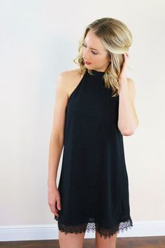 Lauren Dress. Little black dress. $40 Unhinged Boutique. www.unhingedboutique.com
