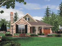 Eplans Cottage House Plan - Three Bedroom Cottage - 1802 Square Feet and 3 Bedrooms from Eplans - House Plan Code HWEPL65851