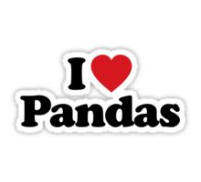 Panda: Stickers | Redbubble
