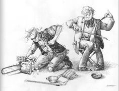 The Humorous Musical Drawings of Claude Serre