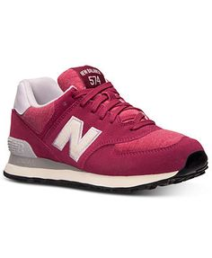 New Balance Women's 574 Pennant Casual Sneakers from Finish Line
