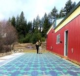 Solar Roadways Unveils Super Strong Solar Panels for Roads in Prototypical Parking Lot