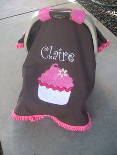 Cute carseat cover!