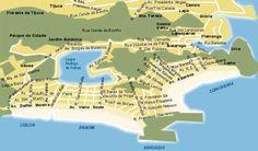 Geografía de Río de Janeiro - http://riodejaneirobrasil.net/geografia-de-rio-de-janeiro/ #RioDeJaneiro #Brasil #Turismo