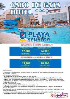 | GRUPO OPENTOURS | . Hotel Cabo de Gata **** (Retamar, Almería, Andalucía, España) ---- Especial ABRIL - MAYO 2018 ---- Información y Reservas en tu - Agencia de Viajes Minorista - ---- #hotelcabodegata #cabodegatahotel #senator #almeria #andalucia #escapadas #hoteles #vacaciones #estancias #ofertas #familias #niños #agentesdeviajes  #agenciasdeviajes #opentours #grupoopentours