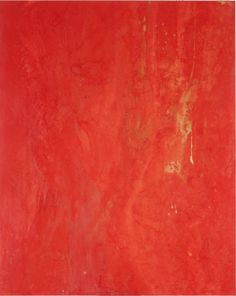 Mark - Water Flames by Makoto Fujimura  Mineral Pigments, Gold, Cochineal on Kumohada, 48 x 60 inches