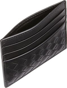 Bottega Veneta Intrecciato Flat Card Case -  - Barneys.com