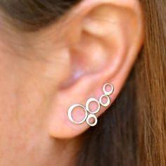 Flat Back Earrings, Tiny Stud Earrings, Simple Earrings, Diy Earrings, Handmade Jewelry Box, Earrings Handmade, Minimalist Earrings, Minimalist Jewelry, Making Jewelry For Beginners