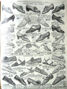 1939 shoe collection...