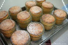 Ooey Gooey Butter Jars - little individual cakes Ooey Gooey Butter Cake, Gooey Cake, Butter Cakes, Cake In A Jar, Individual Cakes, Cake Cookies, Cupcakes, Yummy Cakes, Dessert Ideas