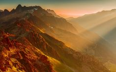 French alps sunset Wallpapers Pictures Photos Images