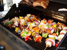 grilled kabobs.