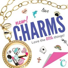 Origami Owl | new charms Check out our new charms: Belindacharms.origamiowl.com