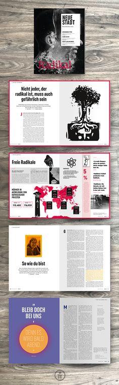 """Die neue """"Neue Stadt"""" ist da! elfgenpick hat das Redesign & Editorial Design gestaltet und übernimmt auch weiterhin das Layout der der Zeitschrift. Das 48-seitige Magazin der Fokolarbewegung erscheint nun alle zwei Monate."""