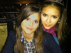 these two beauty queens ! Alex & Nina <3