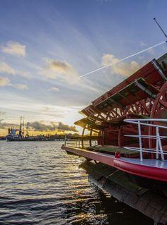 Hamburg Landungsbrücken Sonnenuntergang | Bildschönes Hamburg
