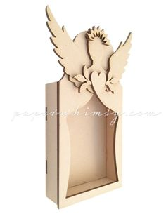 Angel Reliquary from PaperWhimsy