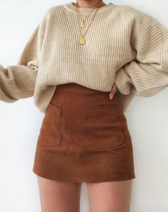 Adrette Outfits, Cute Casual Outfits, Winter Fashion Outfits, Girly Outfits, Retro Outfits, Look Fashion, Outfits For Teens, Stylish Outfits, Korean Fashion
