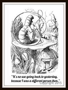 John Tenniel's Alice in Wonderland Art Print 101 Wall Decor, Printed on professional high quality photo paper, Unframed Printed Art Image Paper Moon Media http://www.amazon.com/dp/B014SYSAMI/ref=cm_sw_r_pi_dp_IUpRwb15YKG04