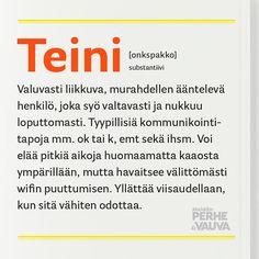 Kuvan mahdollinen sisältö: teksti Smells Like Teen Spirit, Perfect Word, Parenting Quotes, Story Of My Life, Puns, Texts, Haha, Funny Pictures, Just For You