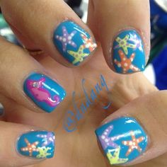 50 Best Ocean Nails Images On Pinterest Pretty Nails Make Up And