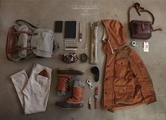 Expeditioner look http://abduzeedo.com/things-neatly-organized
