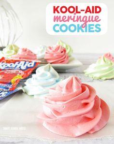Kool-Aid Meringues Cookies - My Honeys Place