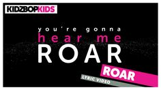 """This month, we're celebrating reading with YouTube Kids. So, come #readalong with us! Download the app here: https://goo.gl/eHk2e8 Sing along to """"Roar"""" from ... Kidz Bop, Youtube Songs, Kids Songs, Greatest Hits, Video Clip, Super Heros, Lyrics, Children Songs, Nursery Songs"""