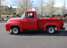 1956 Ford This is the truck that I first learned how to drive on. (yes it was an old truck then) Classic Car Sales, Buy Classic Cars, Classic Trucks, 1956 Ford Truck, Old Pickup Trucks, Old Tractors, Sweet Cars, Vintage Trucks, Hot Cars