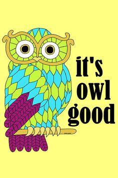 'It's Owl Good!' by Todd Goldman