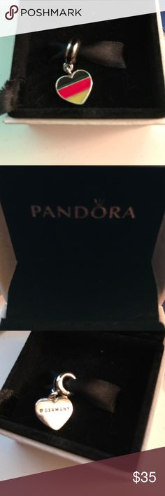 Authentic Germany Pandora charm ! Brand New!! Don't miss this brand new, authentic, limited edition Pandora Germany charm. The charm comes in its original box. Get this charm in time for your Oktoberfest celebrations!! I love this charm , but received two of the same. Pandora Jewelry Bracelets
