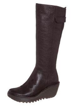 YOA - Keilstiefel - dark brown