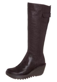 YOA - Keilstiefel - dark brown