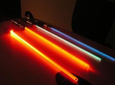 Maker-space - MAKE your own light saber (high tech)