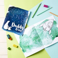 Celebrate Father's Day with this unique book about your Dad. Personalised throughout with what your Dad loves - from food, sport and what he does.The line drawings of the bears are printed over vibrant watercolour backgrounds, with each page having a different theme - where you live, his job, playing games, his car, his favourite foods, his favourite sport and team, places he has taken you, DIY, and his favourite TV show. On the inside front cover we print a personalised message so they can…