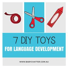 Toys for toddlers for language development. Toddler Age, Toddler Toys, Speech Language Pathology, Speech And Language, Toddler Language Development, 100 Games, Games For Toddlers, Life Photo, Diy Toys