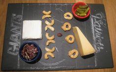 Super Bowl XLVI Cheese Board