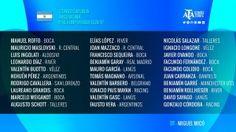Dos juveniles de Talleres a la Selección Argentina Sub-17 Club Atlético Talleres  Se dio a conocer el listado oficial de la Convocatoria para la pretemporada de la Selección Argentina Sub-17 y nuevamente Talleres tendrá dos representantes:Augusto Schott y Nicolás Zalasar.  Los Juveniles de Talleres deberán presentarse el próximo lunes 9 de enero en el Predio de Ezeiza en lo que será el inicio de la pretemporadacon vistas al Sudamericano Sub 17 a desarrollarse en Chile entre el 23 de febrero…