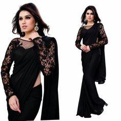 Black sareee