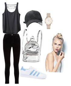 """""""a trip to the fair #2"""" by tesaantobing on Polyvore featuring Kavu, J Brand, adidas, ROSEFIELD and Sephora Collection"""