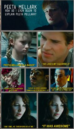 Hunger Games and Mean Girls hahahahaha