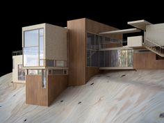 Model of Casa NM14 PAUL CREMOUX studio