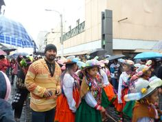 Desfile en Arequipa