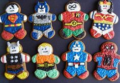 Mighty and Munchable: Gingerbread Superheroes | GeekMom | Wired.com