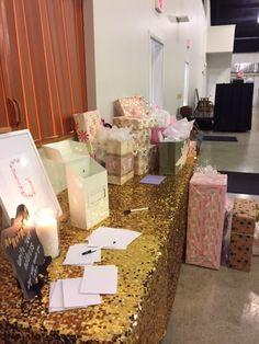 Garden Baby Shower . Gift Display . Nashville . Finnie Nash