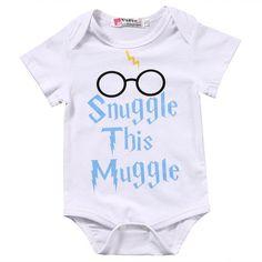 ADD A NAME HARRY POTTER Baby Playsuit Bodysuit SleepSuit NANA/'S LITTLE MUGGLE