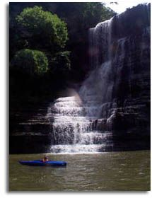 Cane Hollow to Burgess Falls - Center Hill Lake, Tennessee