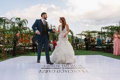 Ruth del Bosque y Francisco Garza first dance