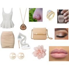 """""""All Dolled Up"""" Polyvore Design  Emily Clark"""