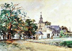 Johan Barthold Jongkind - La chapelle Notre-Dame de Grâce